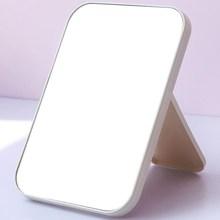 デスクトップ長方形デスクトップ鏡学生女性のHD化粧鏡ポータブル化粧鏡折りたたみ式化粧鏡
