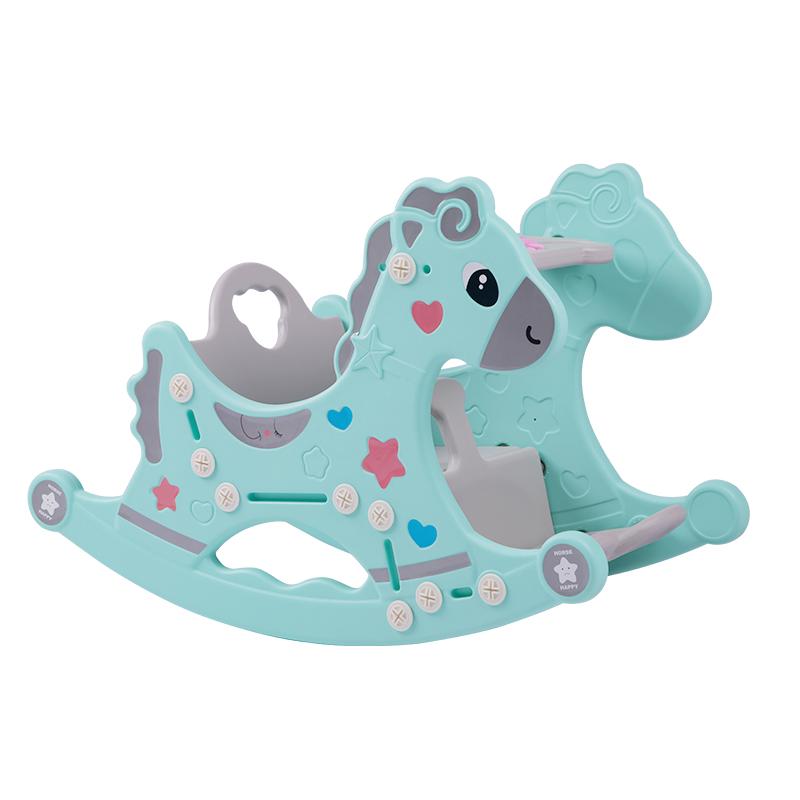 儿童摇摇马室内木马婴儿玩具幼0-1岁七宝宝男孩6-12个月宝宝摇椅