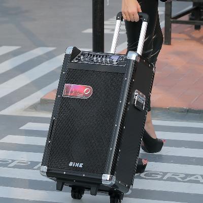 歌西拉杆充电音箱吉他卖唱移动音箱100W户外广场弹唱演出乐器音响