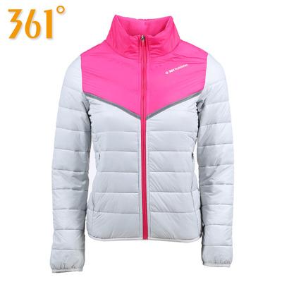 361度女装棉服冬 361运动棉衣保暖外套休闲棉袄 学生女士冬季外套