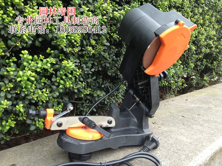 磨链条机器 汽油锯磨链机 电链锯 伐木锯磨链器 挫链机手磨机