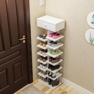 十层储物柜门厅鞋架特价储物经济型客厅家用置物架家里人学生收纳