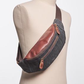 牛XX定制新款男士胸包帆布小背包户外运动斜跨包休闲单肩包挎包潮