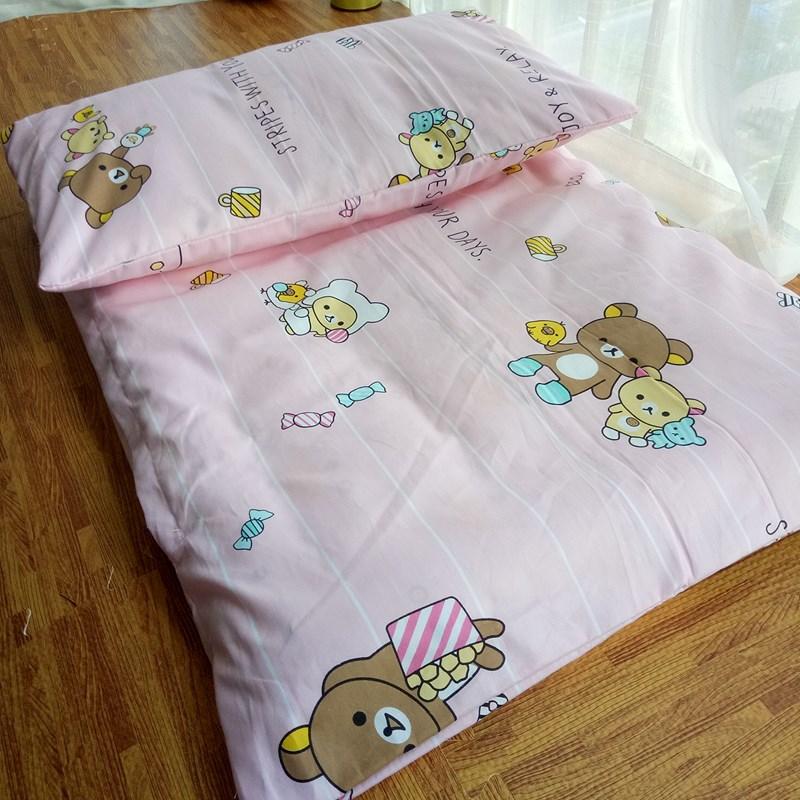 定做幼儿园床垫套褥套垫被套儿童纯棉被套婴儿全棉斜纹被罩床单