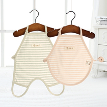 新生儿童宝宝初生四季通用秋冬纯棉夏季薄款护肚脐婴儿肚度械衣