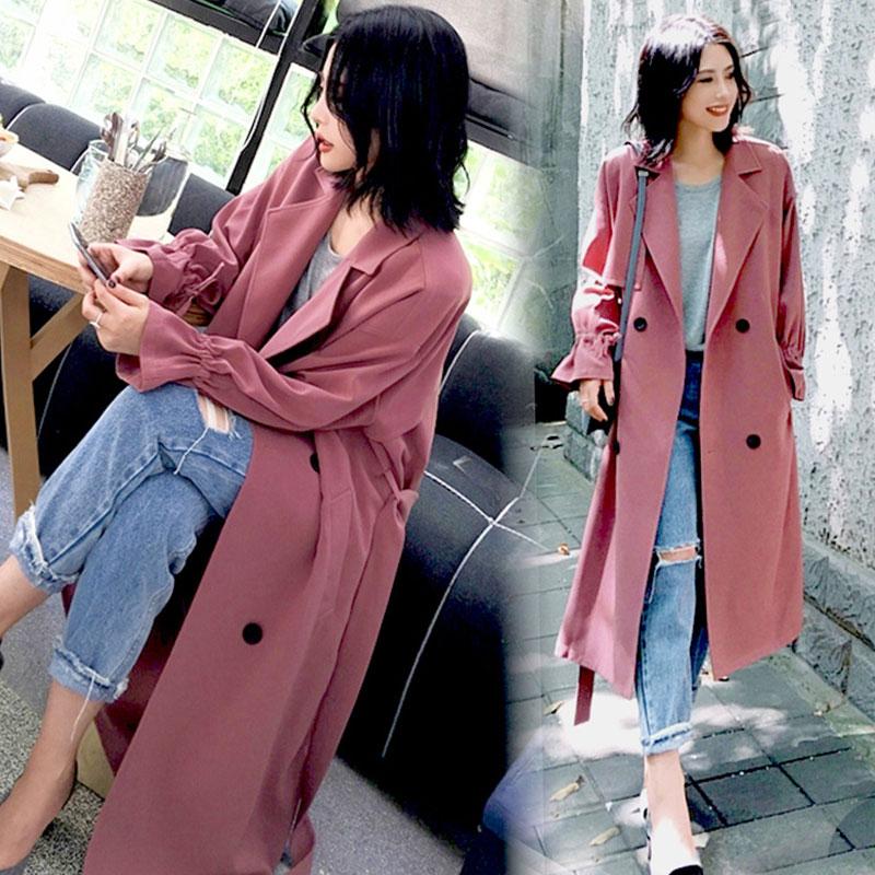 韩版春季大衣