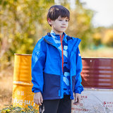 Pathfinder children's jackets boys and girls fall winter warm two-piece detachable windproof splash-proof jacket thickening