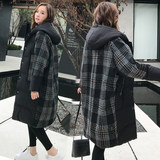 Pregnant women dressed in cotton clothing women 2019 medium-length loose cotton wool winter jacket late pregnancy winter jacket