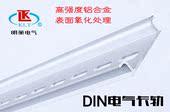 高强度铝合金 7.5 1.4氧化处理 T35 DIN仿进口电气卡轨 空开导轨