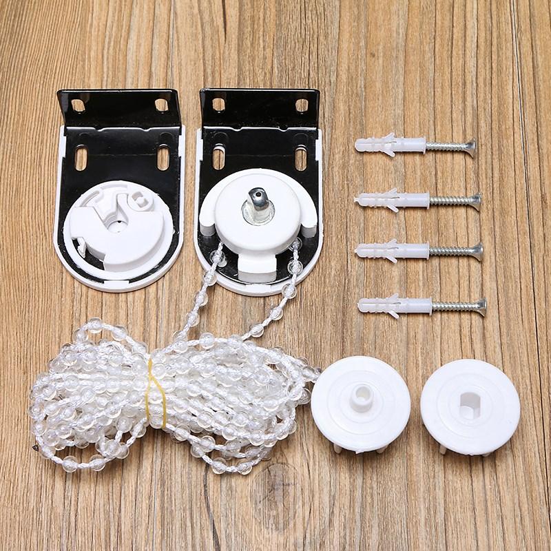 卷帘配件拉珠控制器手动循环升降支架窗帘配件拉绳拉链制头控件