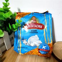 临期价 俄罗斯进口零食品打开套娃奶油味华夫饼糕点150克 深蓝