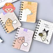 随身线圈本小迷你便携口袋记事本子韩国可爱笔记本小学生文具批发