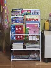 儿童绘本书架 简易收纳架 学生幼儿园展示架 落地书报杂志架包邮