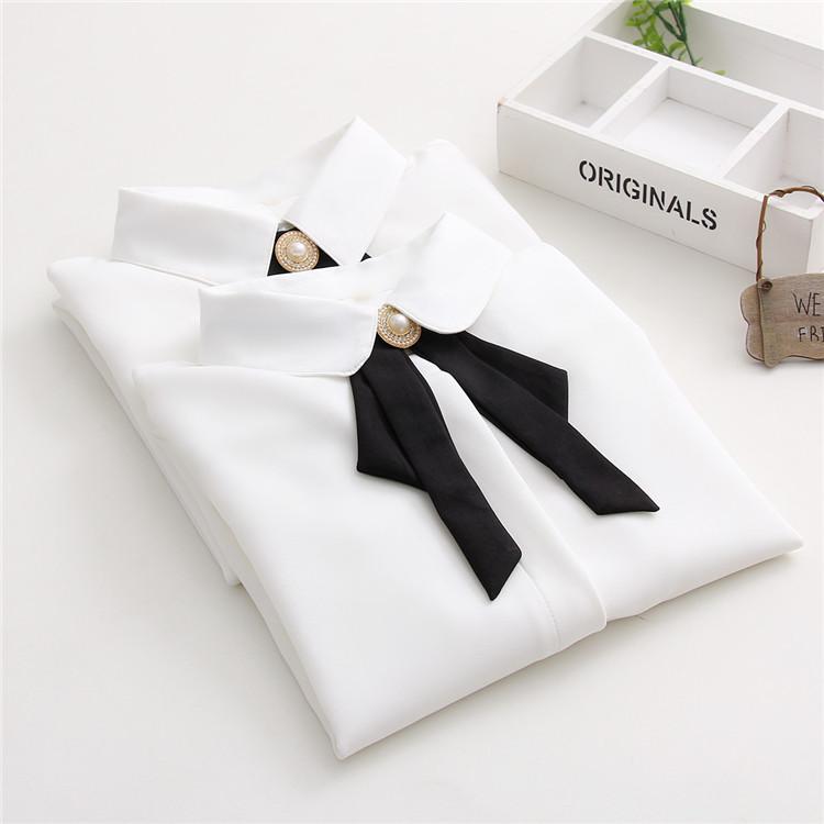 鑲鉆職業襯衫