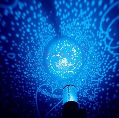 包邮蓝光旋转星空灯投影仪星星灯满天星情人节浪漫礼物星空投影灯