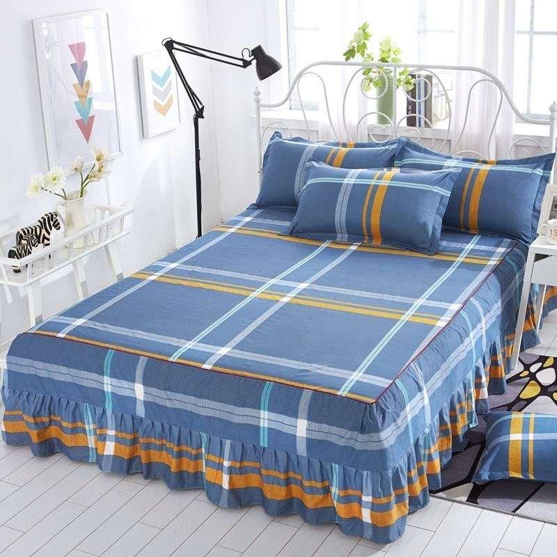 床裙式床罩单件防尘罩8保护套一1五5八1.8乘2x2.米2.0床卓1.5床单