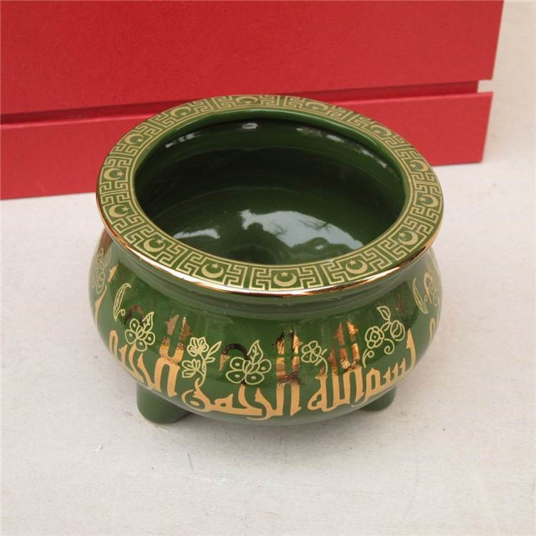 穆斯林用品伊斯兰教陶瓷香炉三件套日用品殡仪用品回族专用3