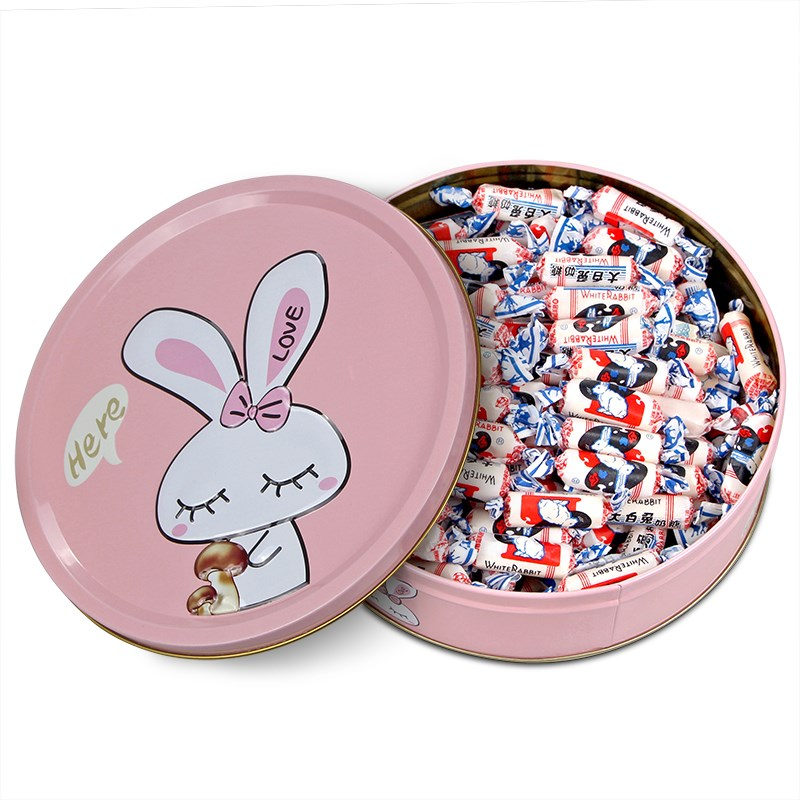 Shanghai specialty white rabbit toffee 500g gift box candy candy snacks for men and women