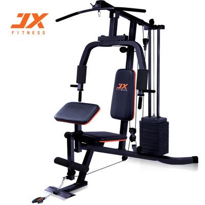 JX综合训练器家用单人站运动多功能力量健身器材组合器械套装