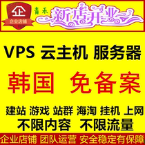 Korea Cloud server Vpy Independent virtual host Free host Server VPS Server lease Hosting