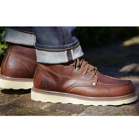 【40-44】卡家经典款油皮疯马皮白底固特异工作鞋工装鞋P710532