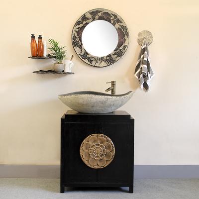 中式浴室柜落地实木牌子口碑评测