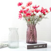清新个陶瓷植物家居装饰品水培小花瓶容器摆件客厅桌面插花干花