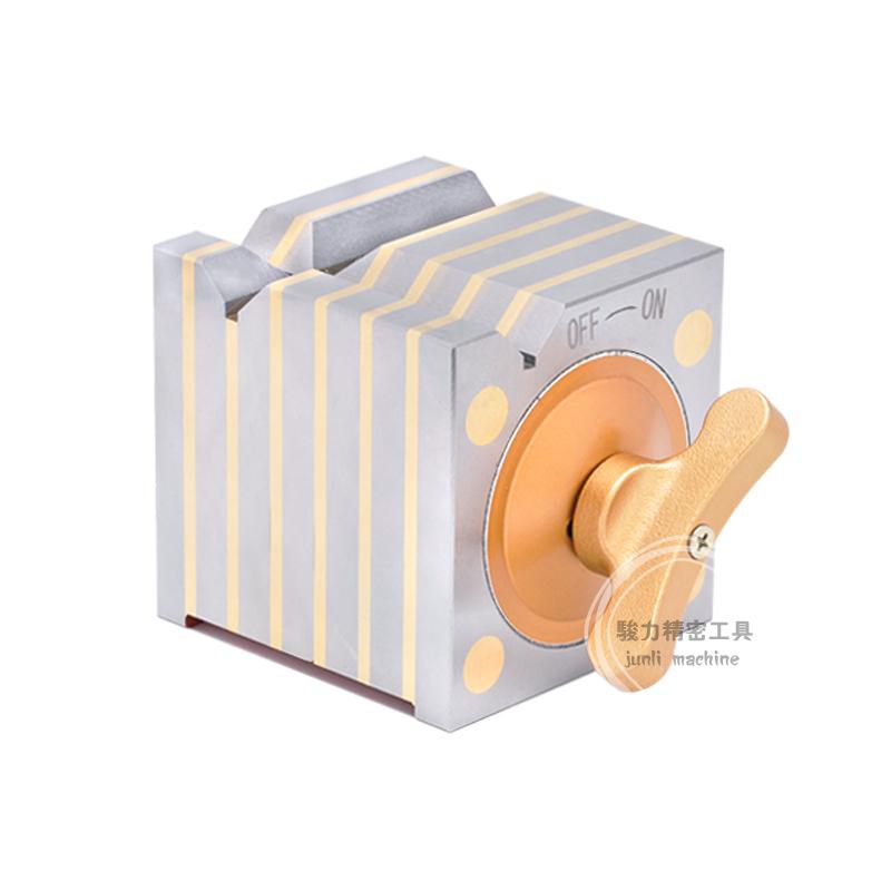 方型磁性测定台 磁力磁性方箱 方形磁力座 磁性四方台100/150mm
