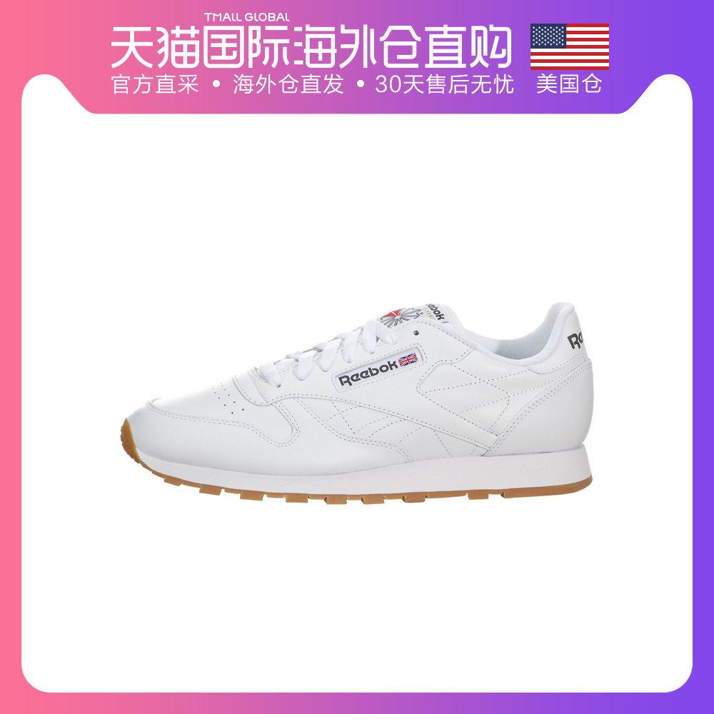美国直邮Reebok锐步ClassicLeather新款复古男鞋跑步鞋时尚休闲鞋
