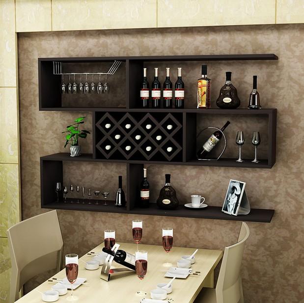 时尚酒柜隔板置物架