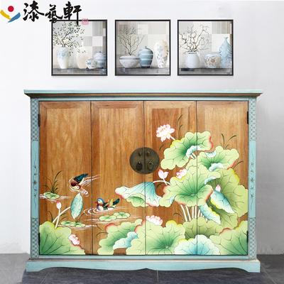 中式彩绘鞋柜哪个牌子好