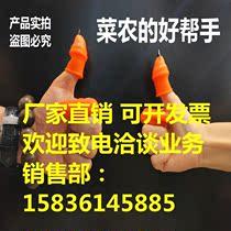 花椒树用修剪掐 割菜拇指刀摘菜工具指套指甲夹摘菜刀修采摘器