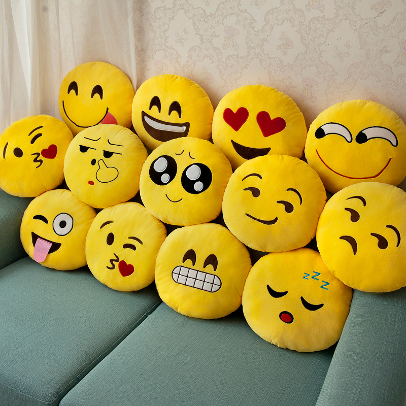 Pillow Face Smiley Smiley Plush Toy Super cute cloth Doll Doll South Korea Funny pillow