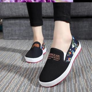 夏季新款网鞋增高单鞋一脚蹬松糕鞋厚底女鞋网面休闲鞋百搭潮鞋子