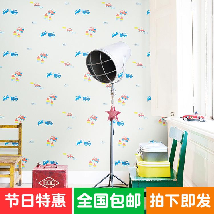 电视背景布墙布 无缝wallpaper无纺布墙纸墙布儿童房卡通墙布