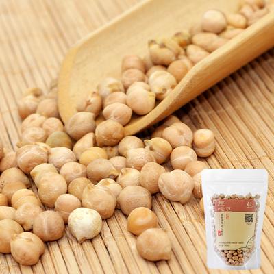 九谷田园鹰嘴豆生大粒新疆原味新货鸡心豆类豆子可打豆泥豆浆350g