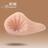 媚娴镂空设计硅胶义乳 乳腺术后女性胸垫插片假胸假乳房