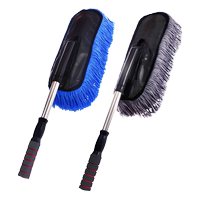 Car supplies car wash brush dust ash duster car with wax mopping car mop soft hair cleaning kit tool