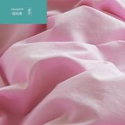 恒和美简约斑马纹纯棉纯色四件套夏全棉4件套 被套床笠床上用品