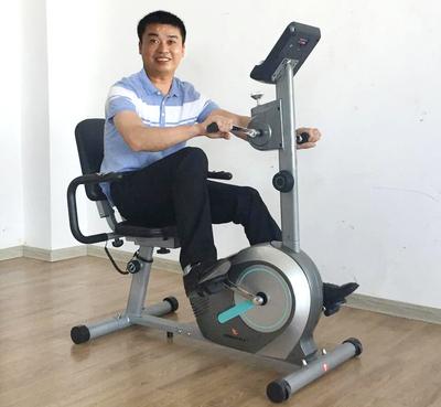 卧式家用健身车