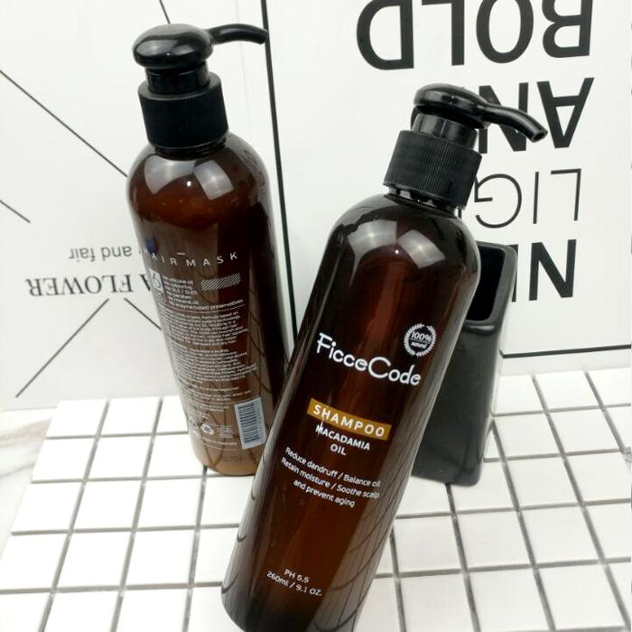 澳洲Ficcecode菲诗蔻洗发水护发素发膜无硅油修复发质孕妇可用