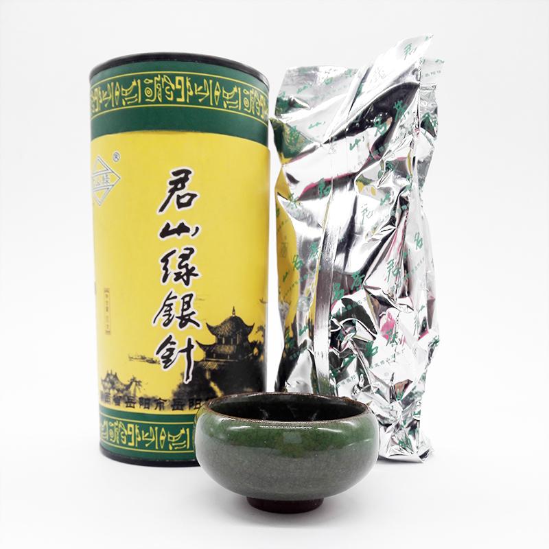 君山银针岳阳黄茶湖南洞庭湖正宗特产2017年新茶春绿茶叶嫩芽罐装