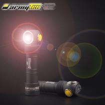 led头灯强光充电超亮头戴式黄光LED施工专用聚光防爆野钓超轻感应