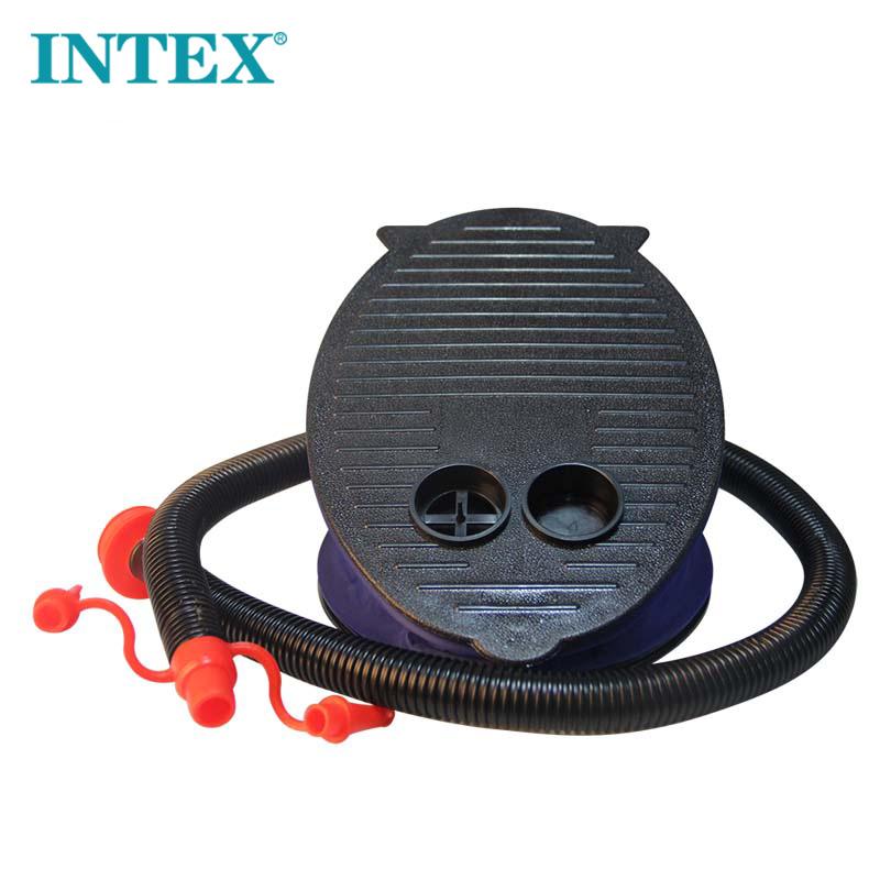 打气筒脚踏充气泵嘴家用脚踩通用气球金属塑料自行车脚踩式手动式