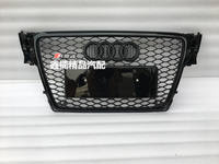 Audi A4L modified RS4 network 08-12 old AUDIA4L modified RS4 cellular front face grille a4lrs4