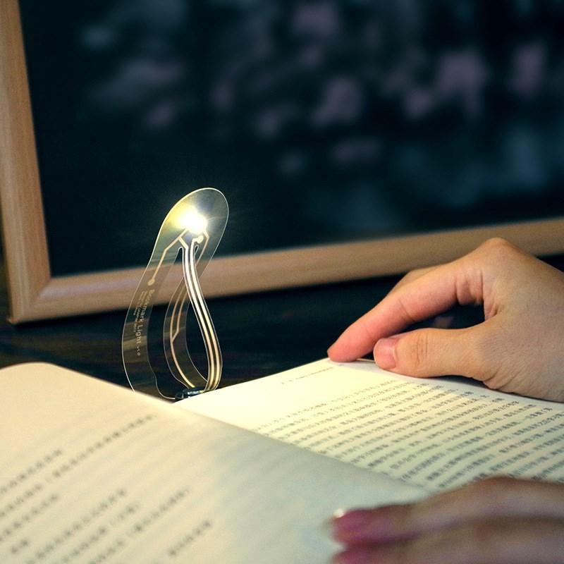 创意设计看灯夜读灯LED电子阅读灯学生夜间宿舍护眼灯简约签