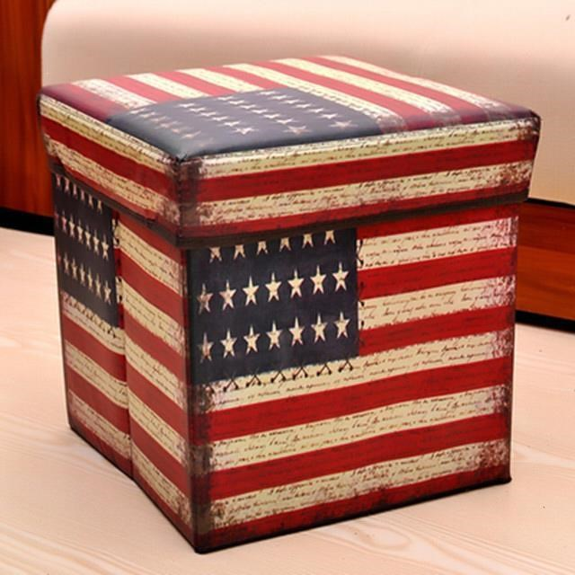 减2可折叠收纳凳储物盒坐凳沙发试换鞋凳玩具带盖收纳箱