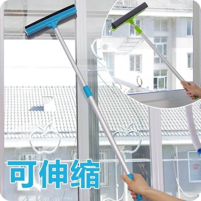 刮水器 玻璃窗加长玻璃刷加厚家用洗波璃器双面擦搽玻璃刮水神器