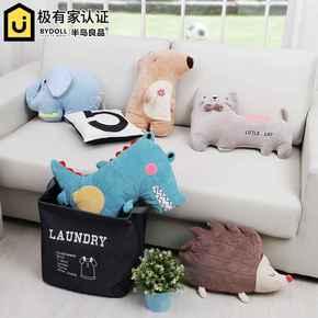 半岛良品 创意抱枕公仔沙发卧室汽车靠垫小靠枕 可爱玩偶生日礼物