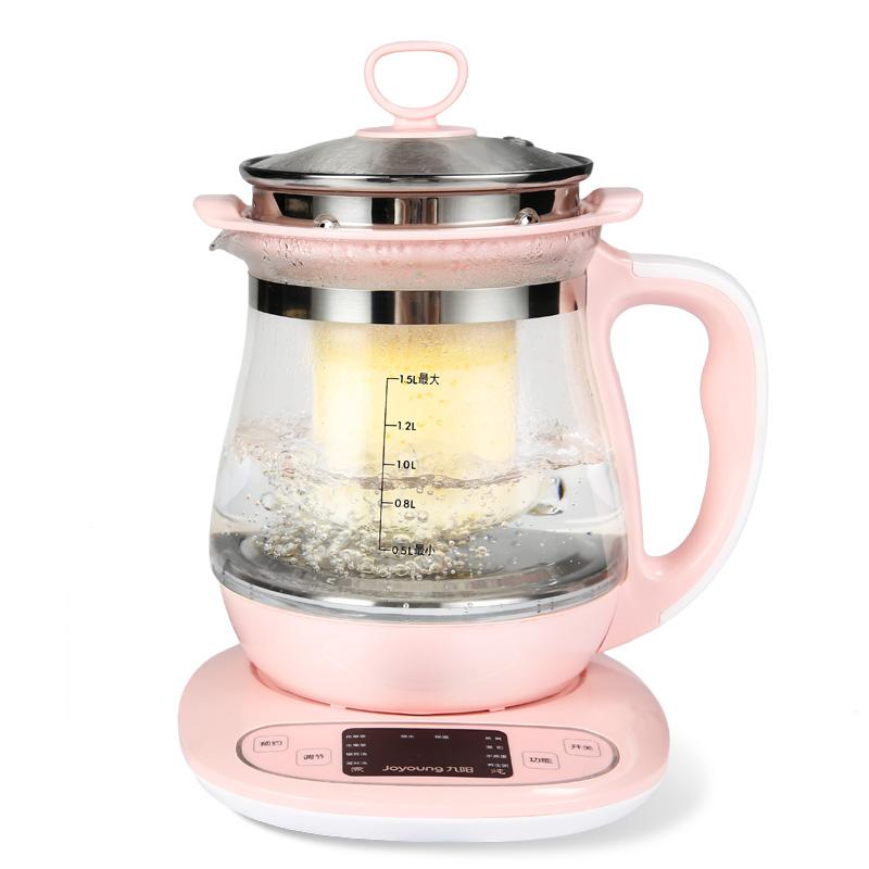 九阳全自动养生壶加厚玻璃多功能燕窝壶电水茶壶电热水壶煮茶器